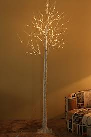 8 foot led christmas tree white lights rainleaf 128 led birch tree lights with flexible branches warm white