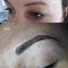 photo gallery 2 of microbladed tattooed eyebrows by diane madeley