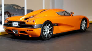 koenigsegg ccx slot car 1 32 koenigsegg ccx orange lighting lamps new scalextric