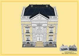 Greek Revival Floor Plans Greek Revival Library