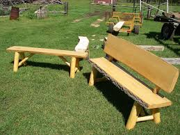 tables made from logs furniture inspirational outdoor garden bench made from log