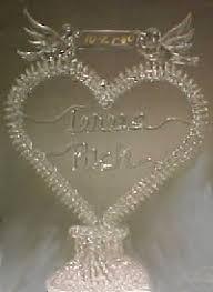 glass wedding cake toppers amazing glass blown wedding cake toppers sheriffjimonline