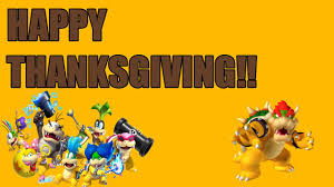 happy thanksgiving boss happy thanksgiving message to subscribers mario u gameplay