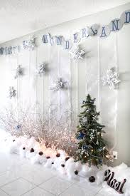 snow decoration table snow decor decorating ideas inspirations idolza