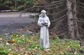 st francis garden statue the gardens