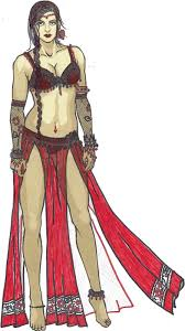 Belly Dance Halloween Costume Paper Doll Eve Dreams Halloween Costume Designs Belly