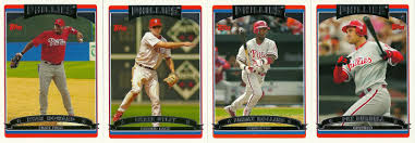 the phillies room 2006 topps phillies