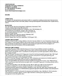 sample respiratory therapist resume sample occupational therapist