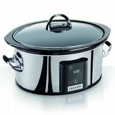 amazon com crock pot 6 5 quart programmable touchscreen slow