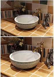 aliexpress com buy europe vintage style art porcelain countertop