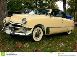 ford convertible 1950 ford custom convertible stock photo image 29659090