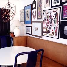full room gallery walls in the dining room u2014 katie gavigan interiors