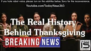 pushes propaganda portraying thanksgiving as