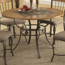 slate dining room table transitional dining dinettes table oak coaster 120771