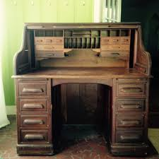 jefferson roll top desk wwii military issued oak roll top desk my antique furniture collection