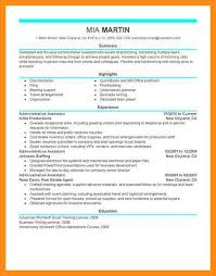 sample resumes administrative assistant senior administrative