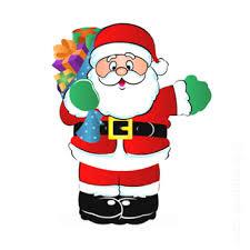christmas santa claus clip christmas santa claus presents the indiana insider