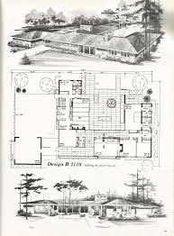 large estate house plans 1269 best h mcm house plans images on vintage houses