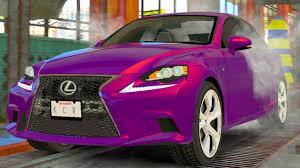 pink lexus lexus is luxury sport sedan car wash lexus is 350 car wash