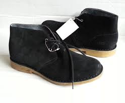 ugg sale eu ugg s suede black leather ankle boots size 8 5 us 41 5 eu