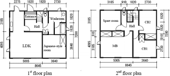 japanese house floor plans figure 5 9 floor plan of typical architectural institute of