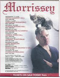 2011 uk tour ad morrissey solo