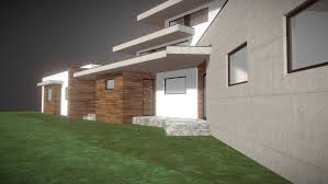 houde home construction houses modern house 3d cgtrader