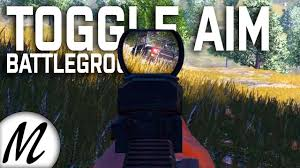 pubg hold to aim how to hold to toggle aim ads battlegrounds strategy tips