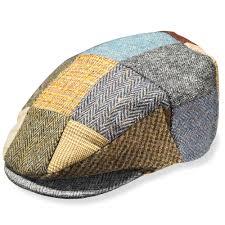 Patchwork Cap - the classic donegal tweed patchwork cap hammacher schlemmer