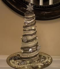 crafter on a budget cone shaped christmas tree decor