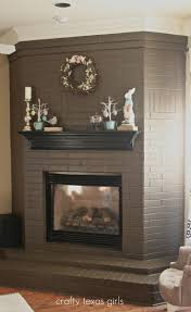 cool ideas to cover a brick fireplace on a budget cool on ideas to