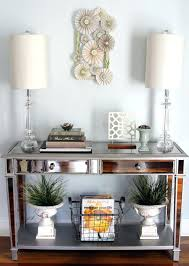Modern Entryway Table Table Lamp Entryway Table Lamps Boxwood Wreath Foyer Giveaway