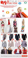 style for you women s men s clothing fashion online shopping store