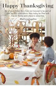 pottery barn happy thanksgiving new black friday deals start