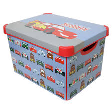 Disney Toy Organizer Disney Cars Storage Box Storage Boxes