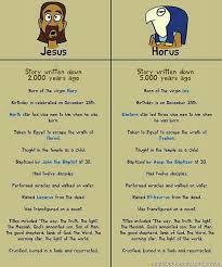 jesus vs horus the original jesus the reality the benevolent