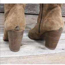 ugg jaspan sale 33 ugg shoes ugg chestnut suede sheepskin heels