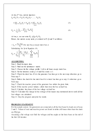 personnel specialist sample resume exp 4 1 4 gauss siedal load flow analysis using matlab software
