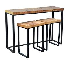 Sofa Table With Stools Brayden Studio Hoekstra Console Table And Stool Set Reviews