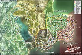 Map Wallpaper Burnout Paradise Racing Action Race Game Video Poster Map