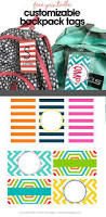 free customizable backpack tags diy backpack backpack tags and