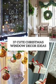 Window Decorations For Christmas by