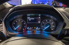 ford ecosport instrument panel escape dimensions dashing first