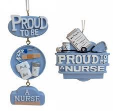 Nurse Christmas Ornament - proud to be a nurse ornament item 483877 the christmas mouse