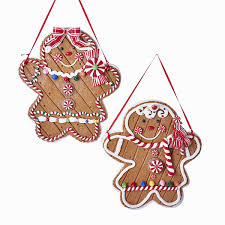 gingerbread ornaments kurt adler christmas ornament shelley b home and