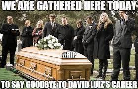 David Luiz Meme - the best memes as david luiz humiliated by luis nutmeg suarez