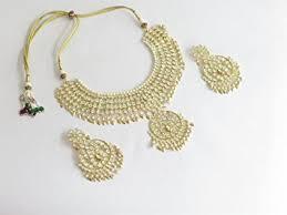 bridal gold set bridal gold kundan pipal patti necklace jewelry set