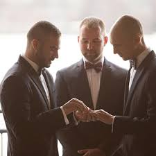 grooms attire tips for dressing two grooms for a wedding brides