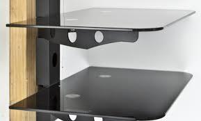 Sensational Glass Bathroom Shelf With Chrome Rail Tags Glass