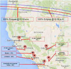 Fires In California Map Audio Eclipse Will Cast A Shadow On Sunny Socal U0027s Solar Power